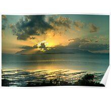 Gloucester Sunrise Poster