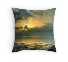 Gloucester Sunrise Throw Pillow