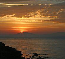 East coast sunrise by Christine Beswick