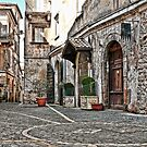 Street in Fuggi by Warren. A. Williams