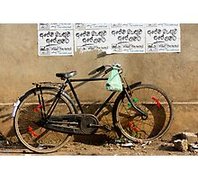 Cruiser bike Photographic Print
