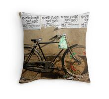 Cruiser bike Throw Pillow