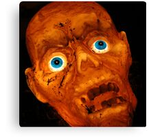 Ghoulish Nature Canvas Print