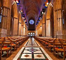 Washington National Cathedral by Fraser Ross