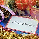 Merry Christmas card by Silvia Ganora