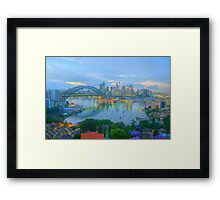 Colour & Reflections - Moods Of A City - The HDR Experience Framed Print
