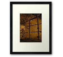 Front Bar, Fremantle Prison Framed Print