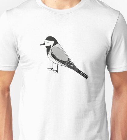 Bird - Illustration - White Wagtail Unisex T-Shirt