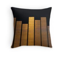 Staple abstract Throw Pillow