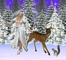 Snow Queen .. a mythical winter`s tale by LoneAngel