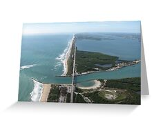 Sebastian Inlet South Greeting Card