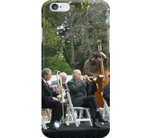 Musical Ensemble playing on the Lawn at  Gov. House. iPhone Case/Skin