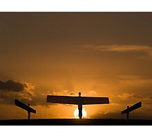 A Modern Day Golgotha Photographic Print