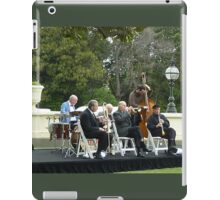 Musical Ensemble playing on the Lawn at  Gov. House. iPad Case/Skin