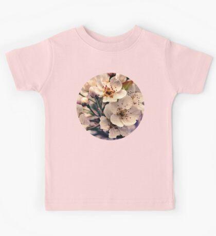 Blossoms at Dusk  Kids Tee
