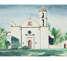 Mission San Luis Rey Photographic Print