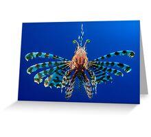 Lionfish Greeting Card