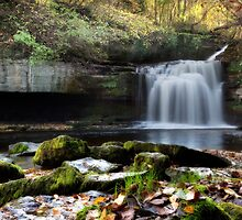 Cauldron Falls - West Burton by SteveMG
