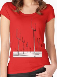 Muse - Origin of Symmetry Women's Fitted Scoop T-Shirt