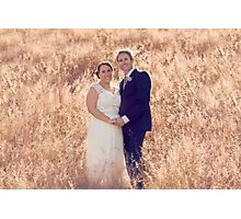 Chris & Kellie Photographic Print