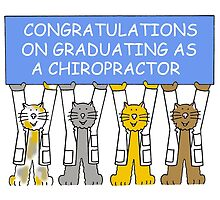 Congratulations on graduating as a chiropractor. by KateTaylor