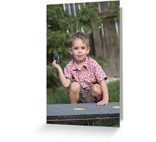 Big Boy's Game Greeting Card