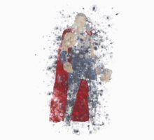 Thor Splatter Graphic Kids Clothes