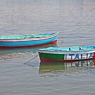 Salerno Two Boats by longaray2