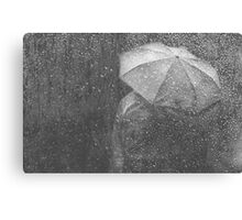 Raining again Canvas Print