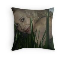 Right Here Beside You Throw Pillow