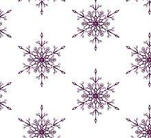 Purple Snowflake by Bang-Bang-Oh