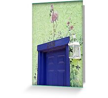 Blue 2938 Greeting Card