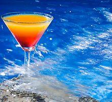 Poolside Cocktail by Alex  Bramwell