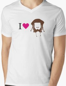 I love Ori Mens V-Neck T-Shirt