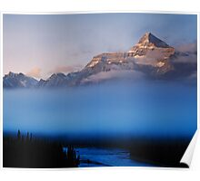Athabasca Valley Poster