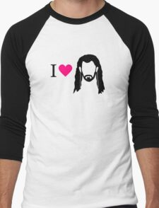 I love Thorin Men's Baseball ¾ T-Shirt
