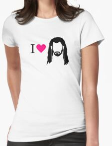 I love Thorin Womens Fitted T-Shirt