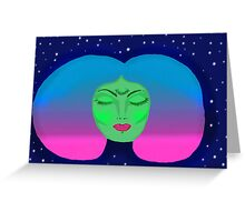 alien chick  Greeting Card