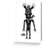 kidchina 3 Greeting Card