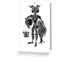 kidchina 2 Greeting Card