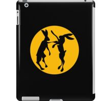 BOXING HARES iPad Case/Skin