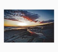 Rocks, Sea and Sunset Kids Tee