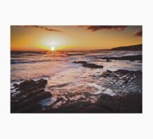 Sunset on the beach One Piece - Short Sleeve