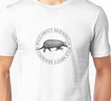 Wild About Armadillos Unisex T-Shirt