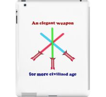 Lightsaber Elegant iPad Case/Skin