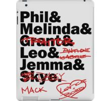 We are Agents of S.H.I.E.L.D. Season 2 iPad Case/Skin
