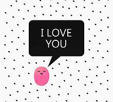 I Love You by Elisabeth Fredriksson