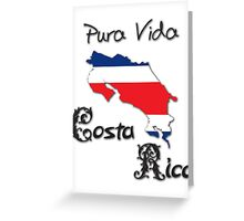 Costa Rica, Pura Vida Greeting Card
