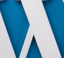 Wordpress Logo Sticker