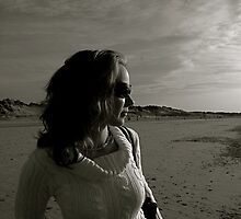 Emma, Formby beach by marc melander